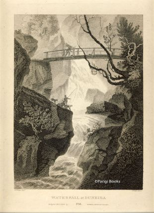Waterfall at Duneira. Etching from a Drawing by John Claude Nattes. James Fittler