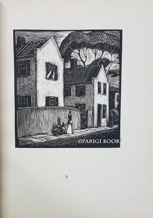 Old Charleston. Twenty-Four Woodcuts. (Signed Limited Edition). Charles W. Smith.