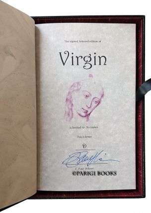 Virgin. (Traycased Leather Bound Lettered Edition).
