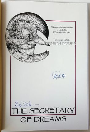 The Secretary of Dreams. (Signed Traycased Limited Edition Set with Matching Numbers).