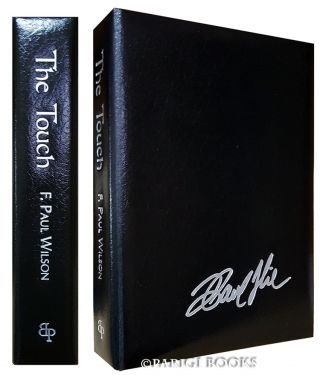 The Touch. (Traycased Leather Bound Lettered Edition). F. Paul Wilson