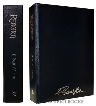 Reborn. (Traycased Leather Bound Lettered Edition). F. Paul Wilson