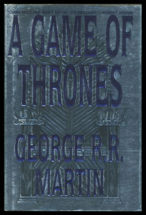 A Song of Ice and Fire Complete Set. (A Game of Thrones. A Clash of Kings. A Storm of Swords. A Feast for Crows. A Dance with Dragons). [with] A Knight of the Seven Kingdoms.