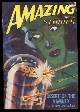 The Crystalline Sarcophagus in Amazing Stories May 1947. Richard S. Shaver