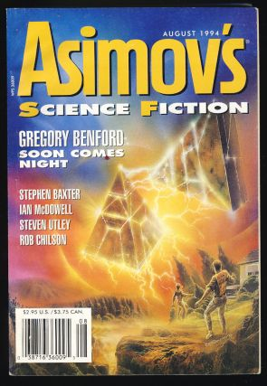 Isaac Asimov's Science Fiction Magazine August 1994. Sheila Williams, ed