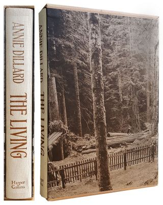 The Living. (Signed Lettered Edition). Anne Dillard.
