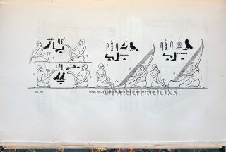 Manners and Customs of the Ancient Egyptians, Including Their Private Life, Government, Laws, Arts, Manufactures, Religion, and Early History; Derived from a Comparison of the Paintings, Sculptures, and Monuments Still Existing, with the Accounts of Ancient Authors. Illustrated by Drawings of Those Subjects. In Three Volumes.