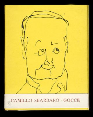 Gocce. (Signed and Inscribed by the Publisher).