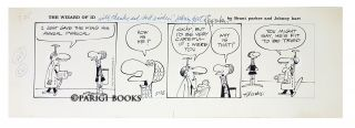 Brant Parker Johnny Hart The Wizard of Id Comic Strip Original Art Dated 5-25-1974. Brant Parker,...