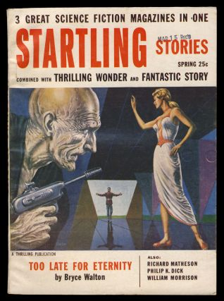 Nanny in Startling Stories Spring 1955. Philip K. Dick