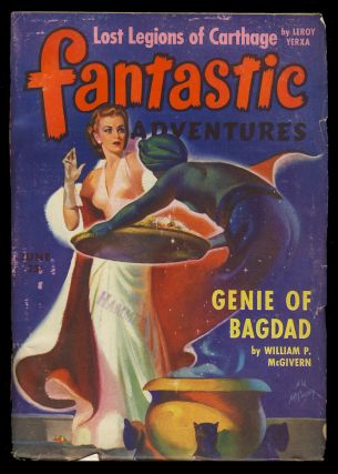 Genie of Bagdad in Fantastic Adventures June 1943. William P. McGivern.