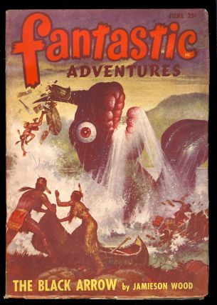 The Tides of Time in Fantastic Adventures June 1948. A. Bertram Chandler.
