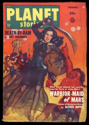 Death-by-Rain in Planet Stories Summer 1950. Ray Bradbury