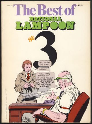 The Best of National Lampoon No. 3. Henry Beard, Tony Hendra, eds., Frank Frazetta, Neal Adams,...