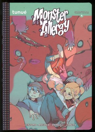 Monster Allergy Thirteen Volume Set. (Complete Monster Allergy Collection Variant Edition #1 to 10 + Monster Allergy Evolution #1 to 4. Fourteen Volumes with a Signed Drawing by the Cover Artist).