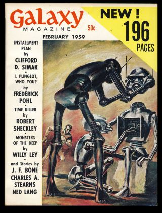 Galaxy February 1959. H. L. Gold, ed