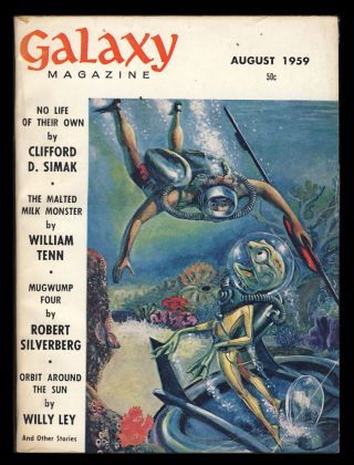 Galaxy August 1959. H. L. Gold, ed