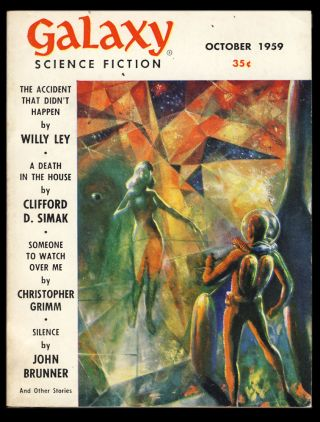 Galaxy October 1959. H. L. Gold, ed