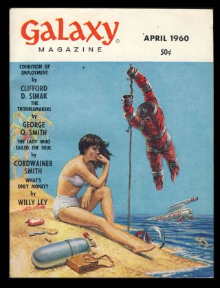 Galaxy April 1960. H. L. Gold, ed