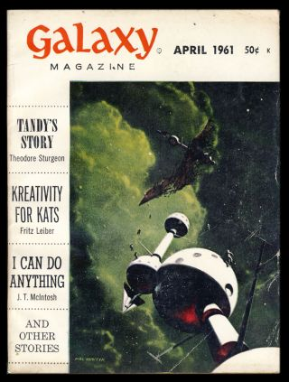 Galaxy April 1961. H. L. Gold, ed
