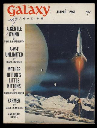 Galaxy June 1961. H. L. Gold, ed.