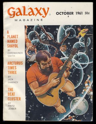 Galaxy October 1961. H. L. Gold, ed