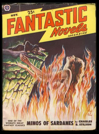 Minos of Sardanes in Fantastic Novels Magazine November 1949. Charles B. Stilson