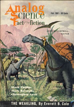 Analog Science Fact & Fiction February 1961. John W. Campbell, ed, Jr