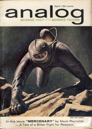 Analog Science Fact & Science Fiction April 1962. John W. Campbell, ed, Jr