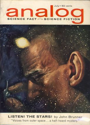 Analog Science Fact & Science Fiction July 1962. John W. Campbell, ed, Jr
