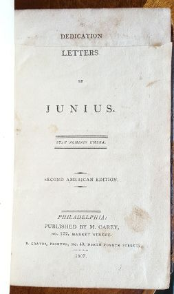 Letters of Junius. Junius.