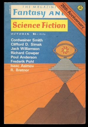 Counterkill in The Magazine of Fantasy and Science Fiction October 1975. (Signed Copy). Jack...