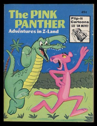 The Pink Panther: Adventures in Z-Land. David L. Harrison
