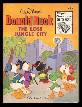 Donald Duck: The Lost Jungle City. Walt Disney.