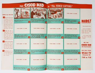 Freihofer's 3-D Fun Book. Starring the Cisco Kid. Book No. 3.