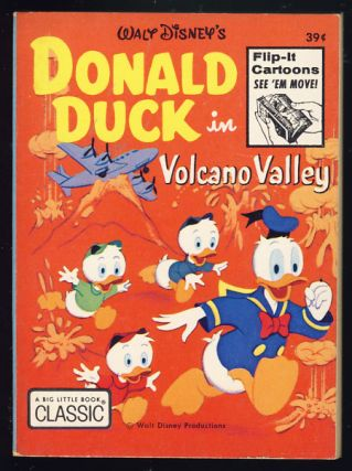 Donald Duck in Volcano Valley. Walt Disney.