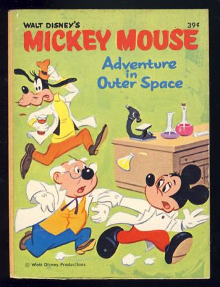 Mickey Mouse: Adventure in Outer Space. George E. Davie.