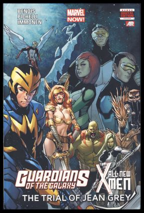 Guardians of the Galaxy / All New X-Men: The Trial of Jean Grey. Brian Michael Bendis, Sara Pichelli