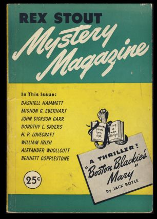 They Can Only Hang You Once in Rex Stout Mystery Magazine No. 3. Dashiell Hammett
