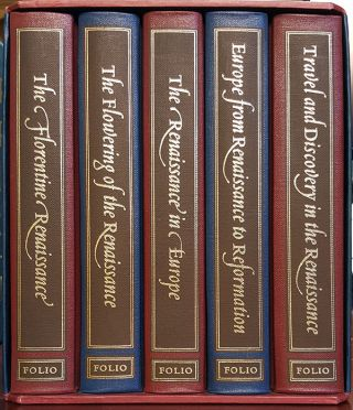 The Story of the Renaissance Complete Set in Slipcase. Vincent Cronin, J. R. Hale, G. R. Elton,...