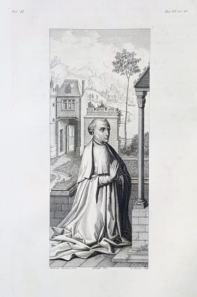 Ritratto d'ignoto. Etching from a Painting by Heinrich Aldegrever. Cav. Lasinio, Lorenzo Metalli.