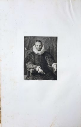 Ritratto incognito. Etching from a Painting by Peter Paul Rubens. Antonio Dalcò, Lorenzo Metalli.