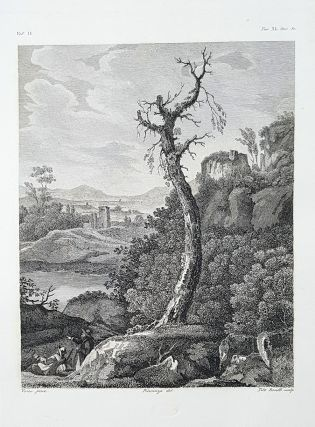Paese. Etching from a Painting by Hans Vredeman de Vries. Tito Boselli, Carlo Piacenza.