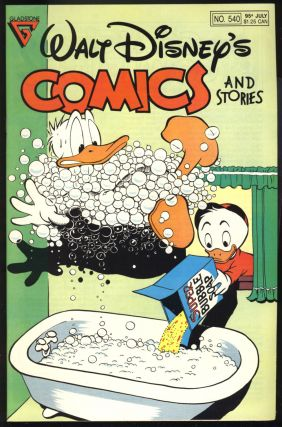 Walt Disney's Comics and Stories Fifty-Five Issue Run. (#511 to 566).
