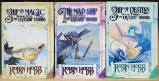 The Liveship Traders Complete Trilogy. (Ship of Magic. The Mad Ship. Ship of Destiny.)