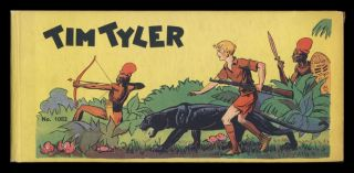 Adventures of Tim Tyler. Adapted from the Famous Newspaper Strip by Lyman Young. Lyman Young