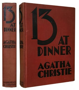 Thirteen at Dinner. Agatha Christie