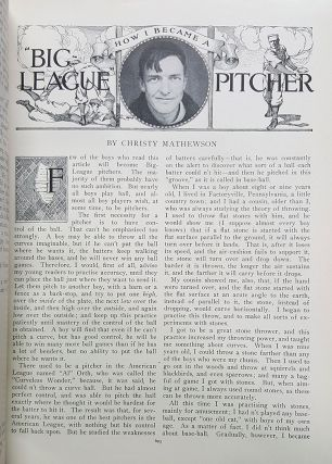 Playing the Game in St. Nicholas: An Illustrated Magazine for Young Folks Volume XXXIX, May to October, 1912. (Also Includes November, 1911, to April, 1912).