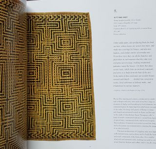 Weaving Abstraction: Kuba Textiles and the Woven Art of Central Africa.