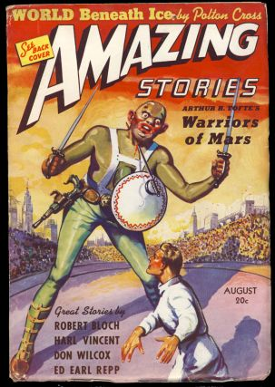 The Man Who Walked Through Mirrors in Amazing Stories August 1939. Robert Bloch.